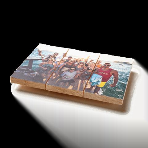Laat je favoriete foto op hout afdrukken!