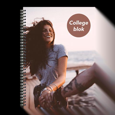 Collegeblokken printen